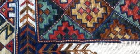 Clases esterillas chile for Como hacer alfombras en bordado chino
